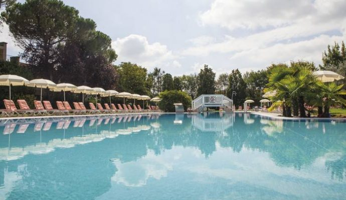 Piscines thermales Abano Italie 2