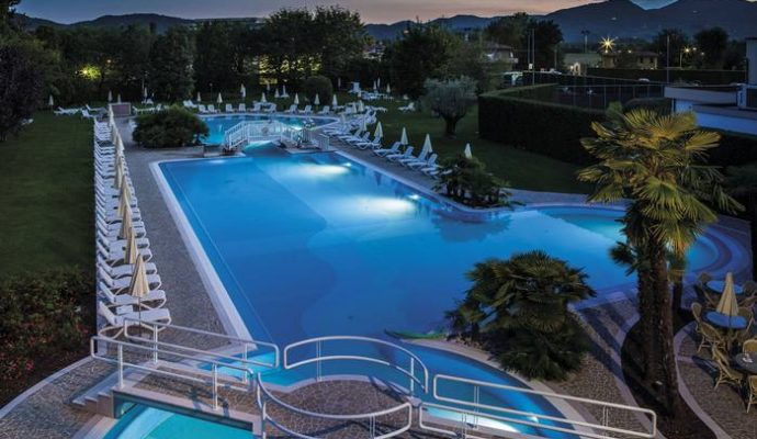 Piscines thermales Abano Italie 13