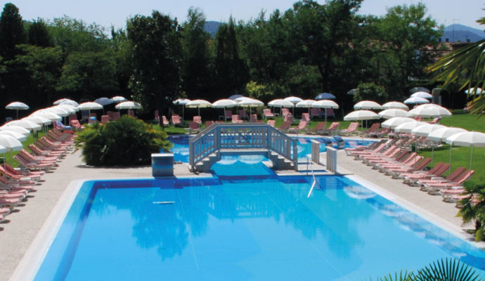 Piscines thermales Abano Italie 9